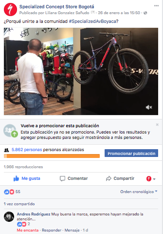 Fanpage | Specialized Concept Store